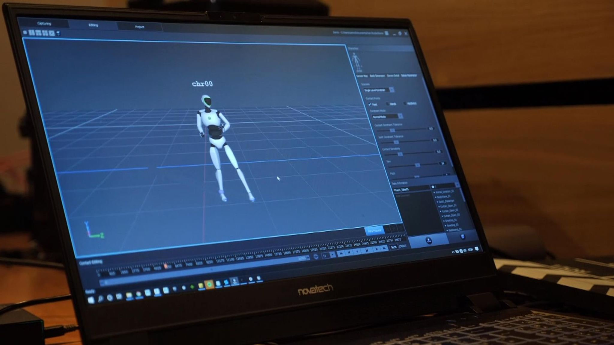 Theon Cross is turned into an avatar for SXSW Festival following motion capture filming at Abbey Road Studios