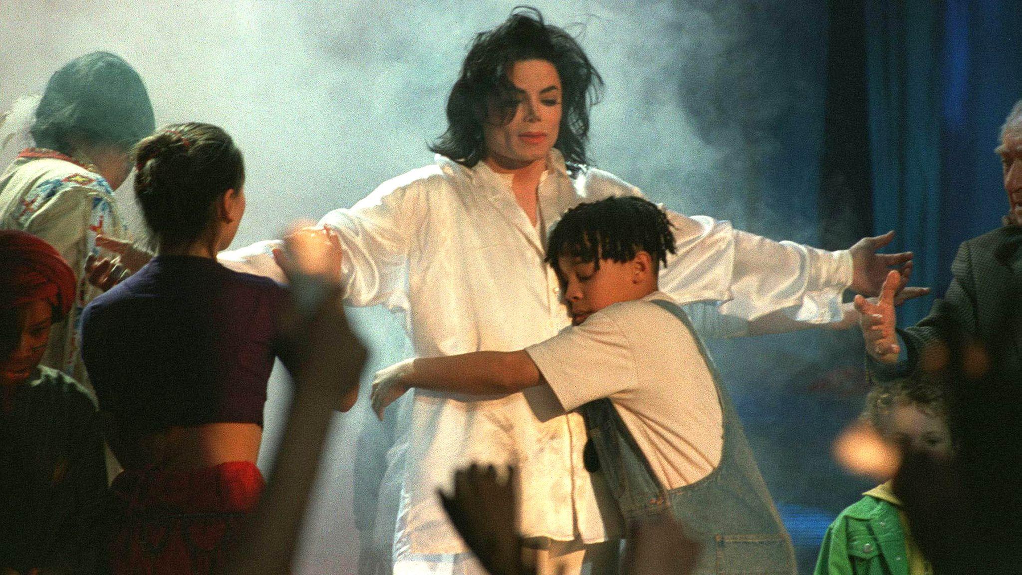 Michael Jackson in 1996