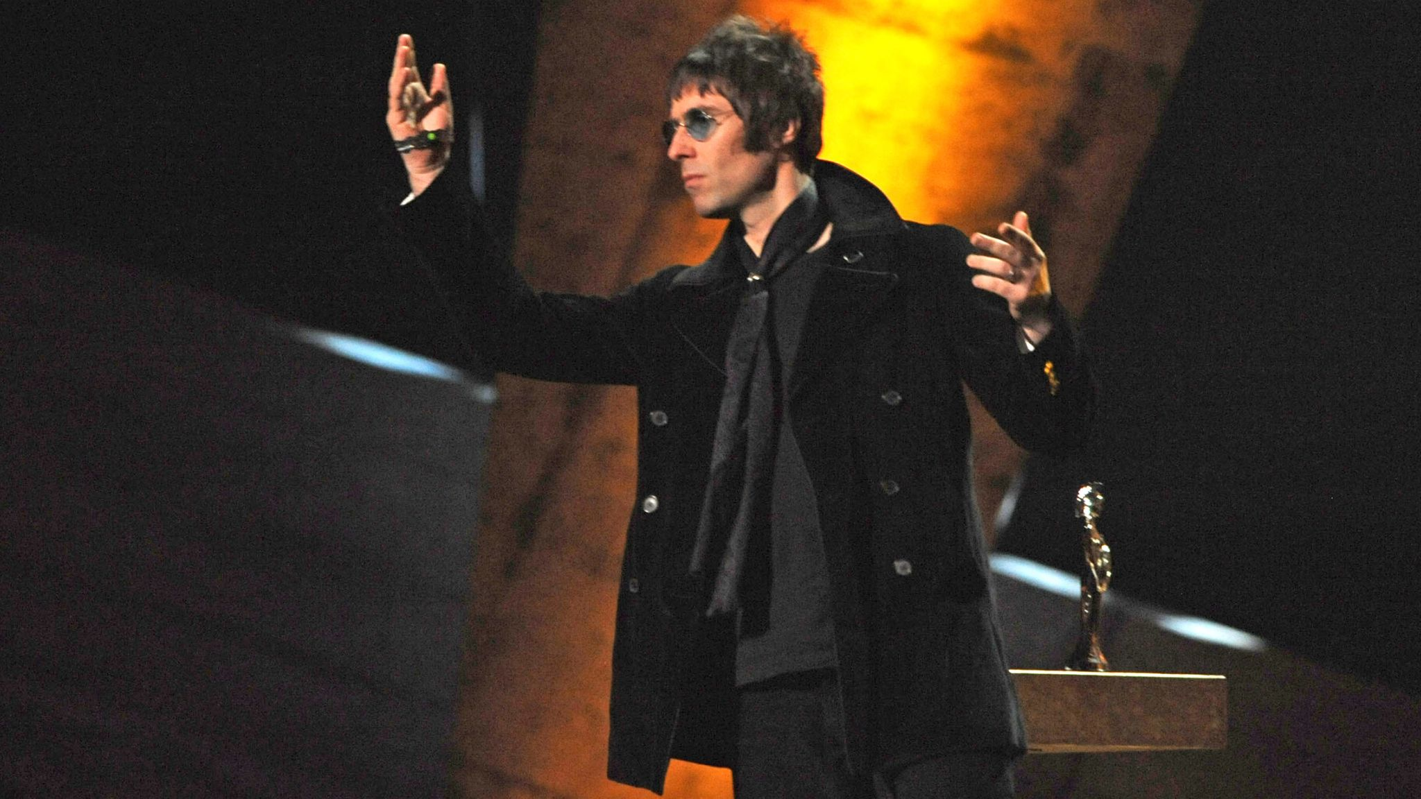 Liam Gallagher in 2010. Pic: Dave M. Benett/Getty Images