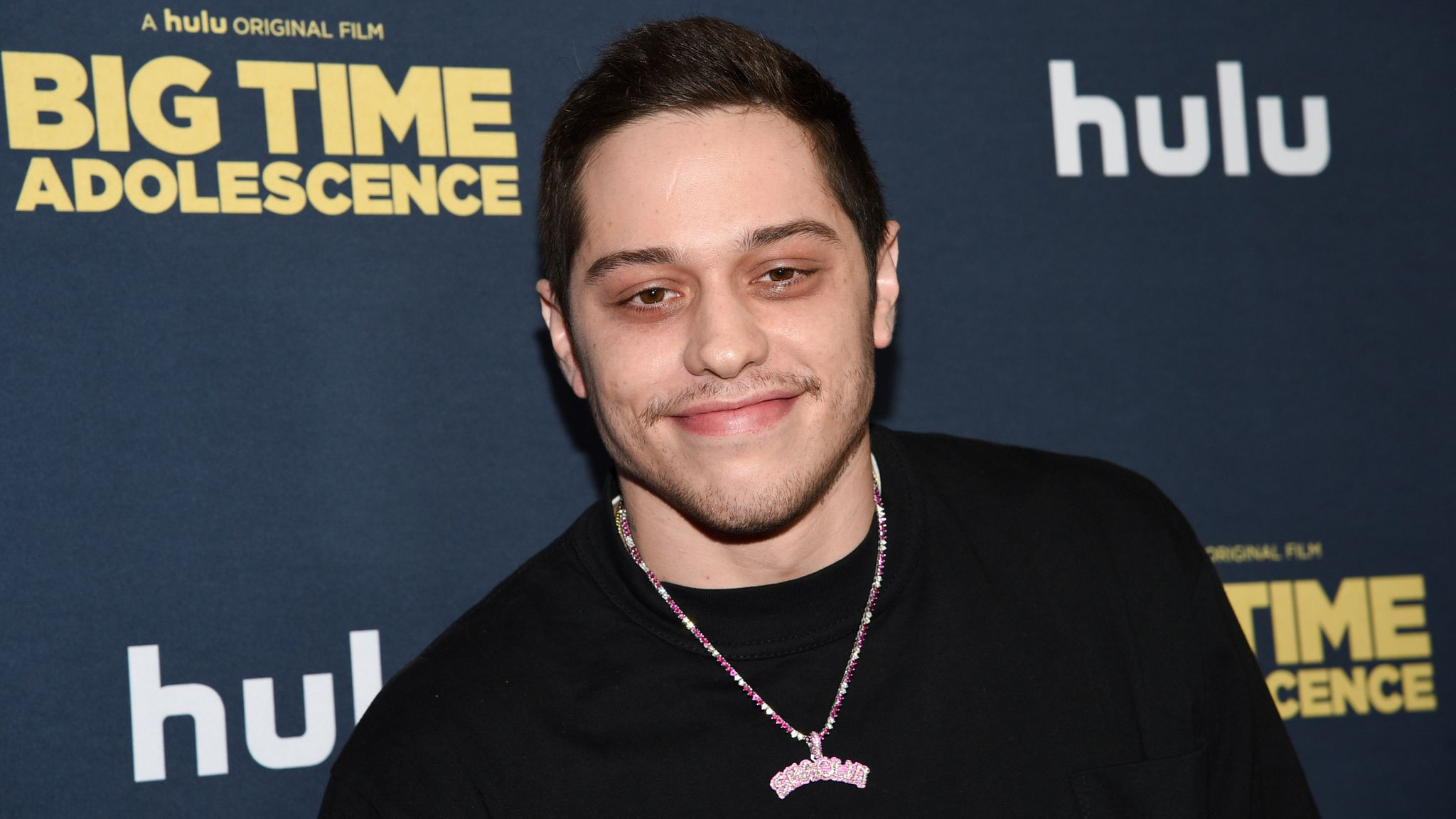"""Pete Davidson attends the premiere of """"Big Time Adolescence"""" at Metrograph on Thursday, March 5, 2020, in New York. (Photo by Evan Agostini/Invision/AP)"""