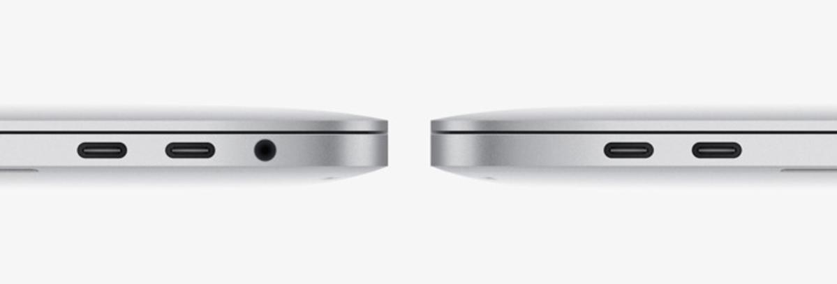 macbookpro 13 tbolt3 ports
