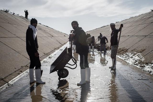 Restoring water supply in Iraq