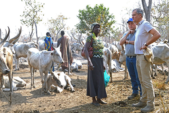 Highlights of the Emergencies Director visit to South Sudan