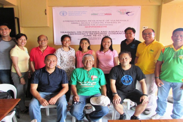 Training on Fisheries and Aquaculture Emergency Response Guidance held in the Philippines