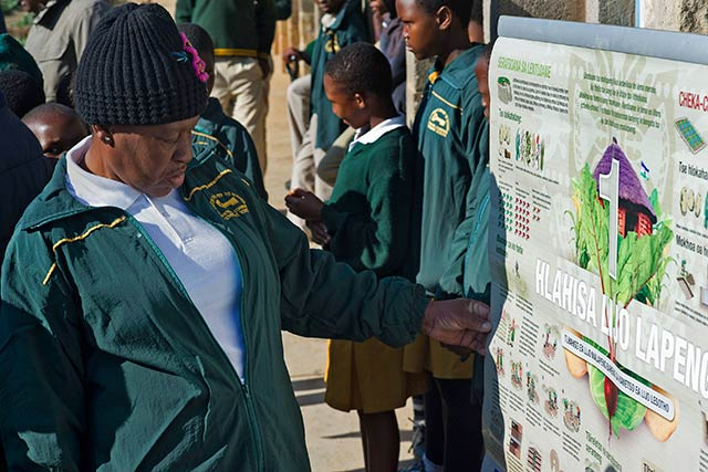 FAO supports Lesotho Government's efforts to protect natural resources and food security