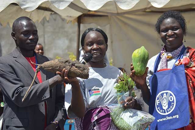 South Sudan marked its fourth World Food Day